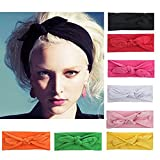 8Pieces/Lot Bandeau Cheveux Nœud d'oreille de Chat Turban...