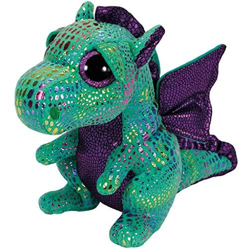 """Beanie Boo Dragon - Cinder - Green - 24cm 9"""""""