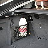 Vycloud Kofferraum-Aufbewahrungsnetz, 400x 250mm, seitlich hinten, für Skoda Octavia/Fabia/Superb/Yeti