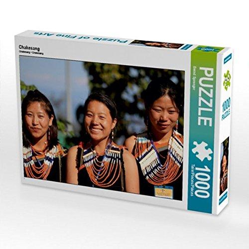 CALVENDO Puzzle Chakesang 1000 Teile Lege-Größe 64 x 48 cm Foto-Puzzle Bild von Bernd ()
