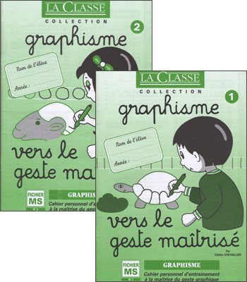 Graphisme Vers le geste matris Pack en 2 volumes : Fichier Moyenne Section