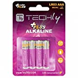Techly IBT-KAP-LR03T Alcalino 1.5V batería