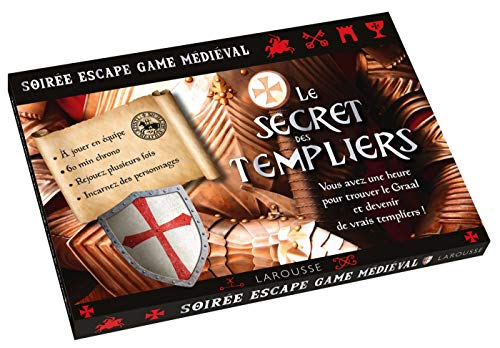 Escape game Secrets des Templiers par Luis Ventín