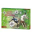 Adventskalender - Puzzle - Fussball - Adventskalender - 198 Puzzleteile + Malvorlage - Advent - Weihnachten - Adventskalender - Hiermit wird die Vorweihnachtszeit wunderbar spannend