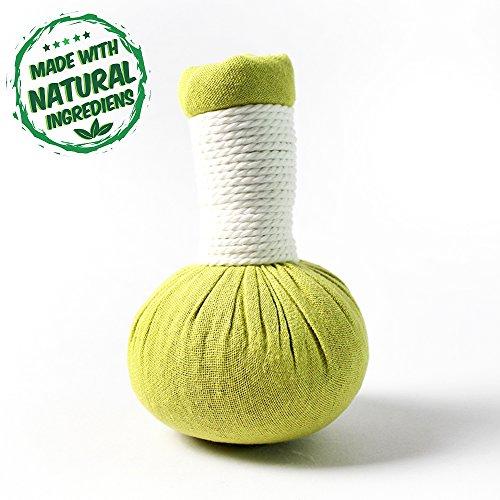 20 x Kräuterstempel Kaffir Limette Thai Kräuter 200g (Gramm) - MyThaiMassage - für traditionelle Massagen & Wellness - 100% natürliche Zutaten