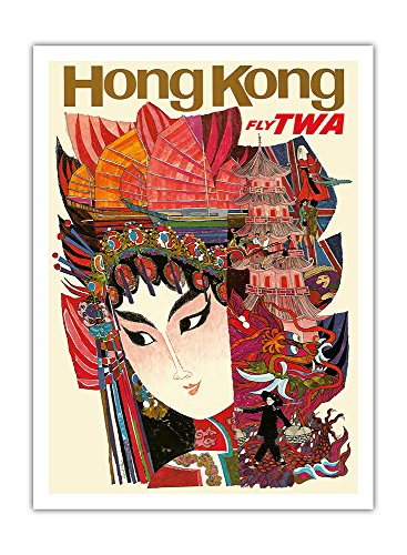 hong-kong-compagnies-aeriennes-du-monde-trans-volent-twa-airline-affiche-vintage-de-voyage-vintage-a