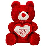 Teddy Bear Red With Heart Soft Toys 12 Inch