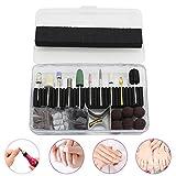 Rokoo 32pz/set professionale manicure pedicure macchina elettrica per trapano levigatura bande con tappo nail art Tools