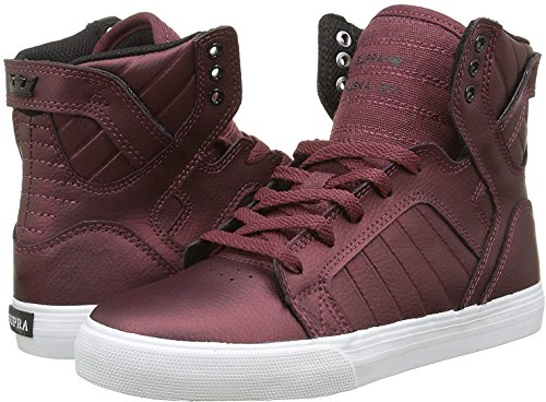 Supra Skytop Junior Hi Top Trainer (Probe) – Rot, Rot, UK 13J