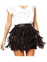 f2d50fcd0d03 Amazon.it  gonna pelle - Vestiti   Donna  Abbigliamento