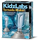 Create Your Own Tornado Experiment - Easy To Make Science Kit - New for 2015 Educational - Educational Science Present Gift Ideal For Christmas Xmas Stocking Fillers Age 8+ Children Kids Boys Girls