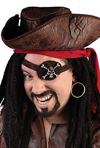 Caribbean Pirate Eye Patch Kit by Fun World