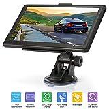 SAT NAV TENSWALL - Sistema di navigazione GPS per auto, camion, bici, pedonale - Touch screen LCD da 7 pollici Navigatore GPS per l'Europa con animazioni multiple (8 GB / 256 MB)
