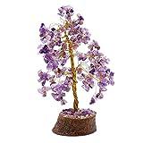 HARMONIZE Amatista árbol de Piedra curativo de Las Gemas de Cristal Feng Shui Espiritual Vastu Vector de la decoración