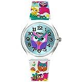 Teenie-Weenie Chic Watches UC031 - Reloj para mujeres, correa de plástico multicolor