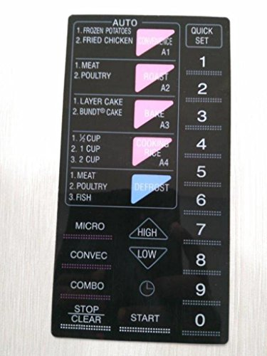 ABLE 900T Microwave Oven Membrane Touch Keypad