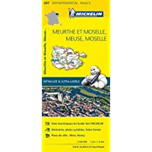 Carte Meurthe et Moselle, Meuse, Moselle Michelin