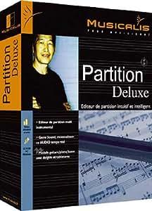 Partition 3.0 deluxe : Editeur de partitions intuitif et intelligent
