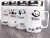#10: Satyam Kraft Ceramic Panda Printed Mug ,(1 Piece),White