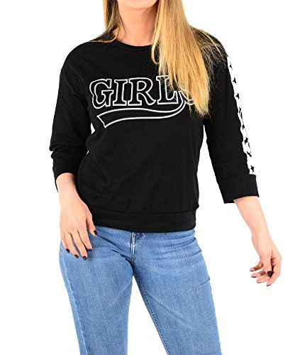 haute for DIVA NEUF pour femme manches longues slogan seul fille étoile NYPD brklyn HAUT T-SHIRT CAPUCHE 8-14 FILLES / étoile noir