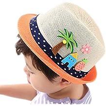 LAAT Chapeau de Soleil Plage Anti-UV Solaire d été Chapeau de Paille pour eb01289fb76