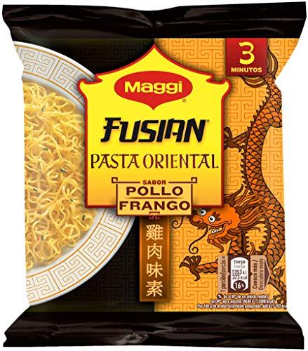 Maggi Fusian Pasta Oriental Noodles Sabor Pollo - Fideos Orientales - Bolsa...