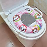 Best Padded Toilet Seats - Rachna Soft Padding Potty Lavatory Seat With Handles Review