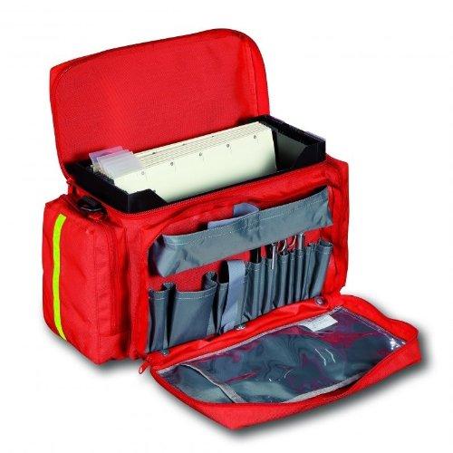 PAX® Einsatzleitertasche, Pax-Dura Karten, Einsatzdokumentation, Krankenhauspläne, Einsatz- und/oder Dienstpläne, Funkgerät, Schreibmaterial und mehr sind in dieser Tasche kompakt unterzubringen. Schwarz