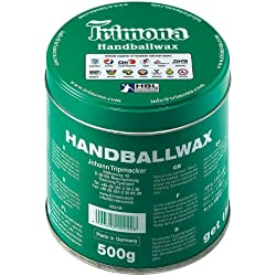 Trimona Handballwax - Resina de manos adherente para balonmano (500 g, fácil limpieza)