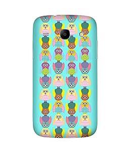 Stripes And Elephant Print-15 Samsung Galaxy Core I8260 Case