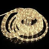 SPEED 6M LED Lichterschlauch Lichterkette Schlauch Leiste Außen und Innen Warmweiß
