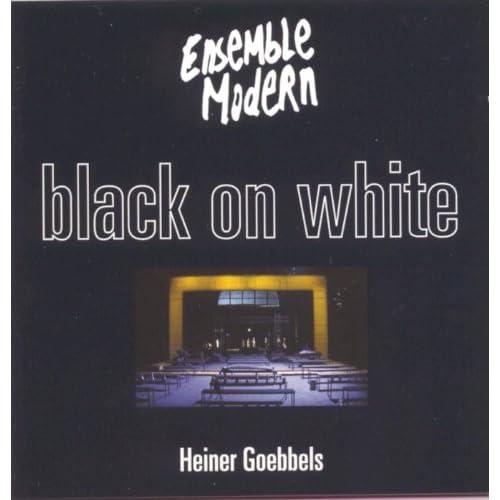 Black On White - Music Theatre: Black On White - Music Theatre: Readings I (Ye who read)
