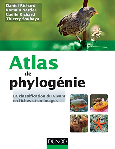 Atlas de phylogénie - La classification du vivant en fiches et en images par Daniel Richard