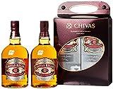 Chivas Regal Scotch 12 Years Old Twin Pack mit Geschenkverpackung Whisky (1 x 2 l)