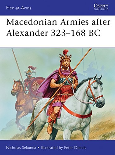 Macedonian Armies after Alexander 323–168 BC (Men-at-Arms) por Nicholas Sekunda