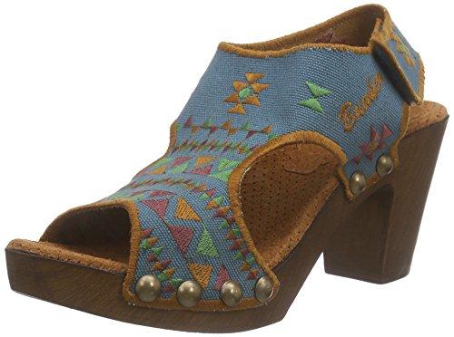 Bunker - Sandal, sandali punta chiusa Donna Verde (Grün (GRASS))