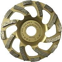 PRODIAMANT Profi Diamant-Schleiftopf Beton 125 mm x 22,2 mm Diamantschleiftopf PDX82.918 125mm Beton/Naturstein passend Winkelschleifer