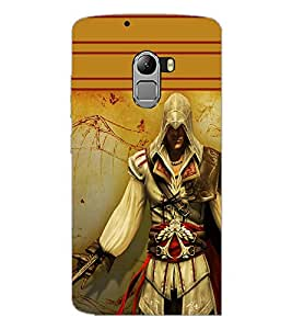 PrintDhaba Warrior D-1891 Back Case Cover for LENOVO VIBE X3 LITE (Multi-Coloured)