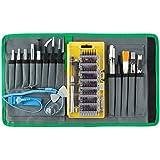 Cacciavite di precisione Olrick magnetico S2acciaio professionale 80pezzi mini portatile set di punte per cacciavite, attrezzo di riparazione
