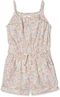 Fat Face Girl's Elephant Doodle Overalls, Beige (Natural), 8-9 Years (Manufacturer Size: 8-9)