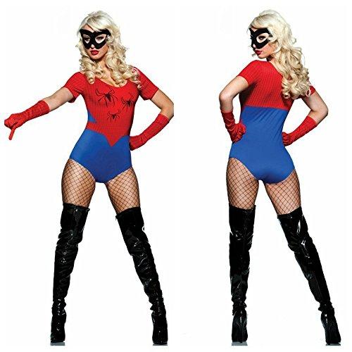 1 Spiel Kostüm Spiderman - Gorgeous Halloween-Kostüme Tanzpartys siamesische Kleidung Liebhaber Spiderman Spiderman , #1