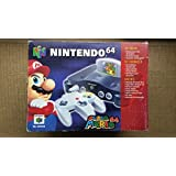 Nintendo 64 Konsole/Gerät schwarz - Mario Pak (N64) Z1-2 gebr.