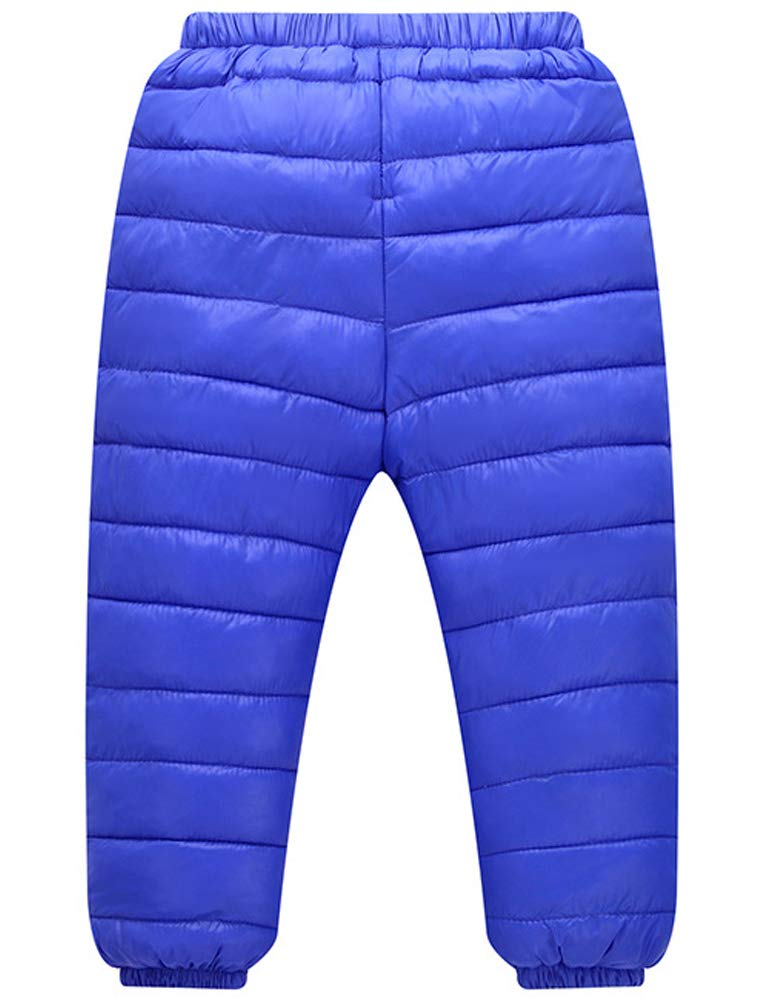 Odziezet Pantalones Esquí Niño Niñas Plumas Plumon Caliente Grueso 2-7 Años 1