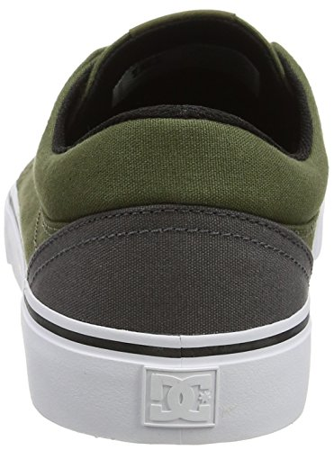 DC Shoes  Trase Tx, Sneakers basses homme Multicolore (Grey/Black/Green)