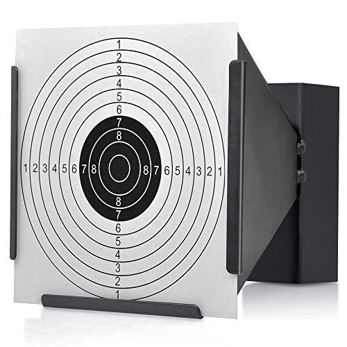 Yaheetech Kugelfang für 14x14cm Zielscheiben Scheibenkasten Luftgewehr Trichterkugelfang