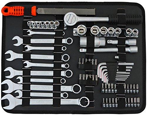 FAMEX 758-65 Werkzeugkoffer 115-/insgesamt 130-tlg - 5