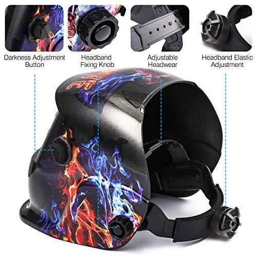 Zoom IMG-1 casco di saldatura nasum maschera