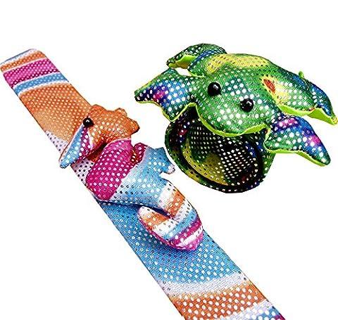 Animal Snap Bracelets (Pack of 2)