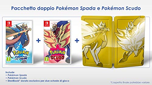 Pokémon Spada e Scudo Dual Pack Limited Nintendo Switch