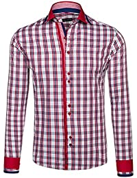BOLF - Chemise casual – avec manches longues – BY MIRZAD 6852 – Homme